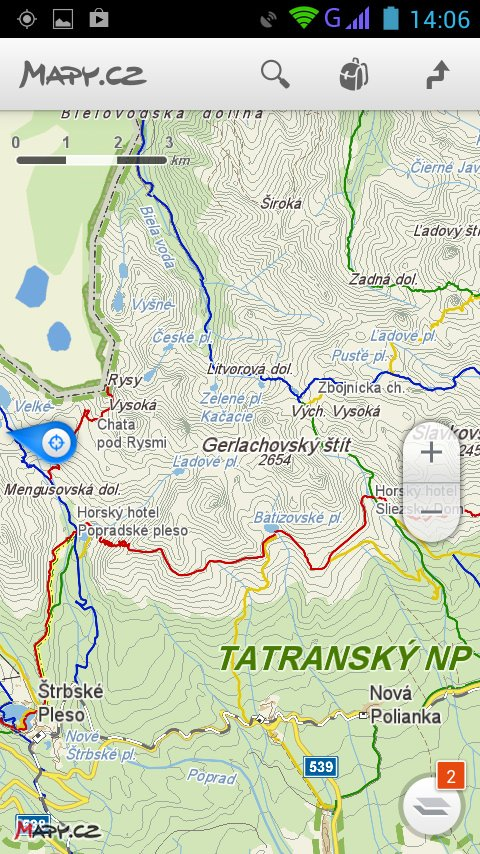 mapy ke stažení zdarma do mobilu