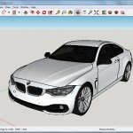 Sketchup Bmw model